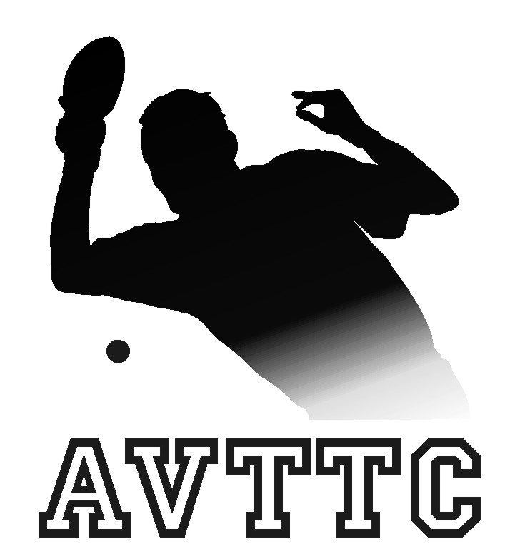 Annapolis Valley Table Tennis Club of Nova Scotia Logo