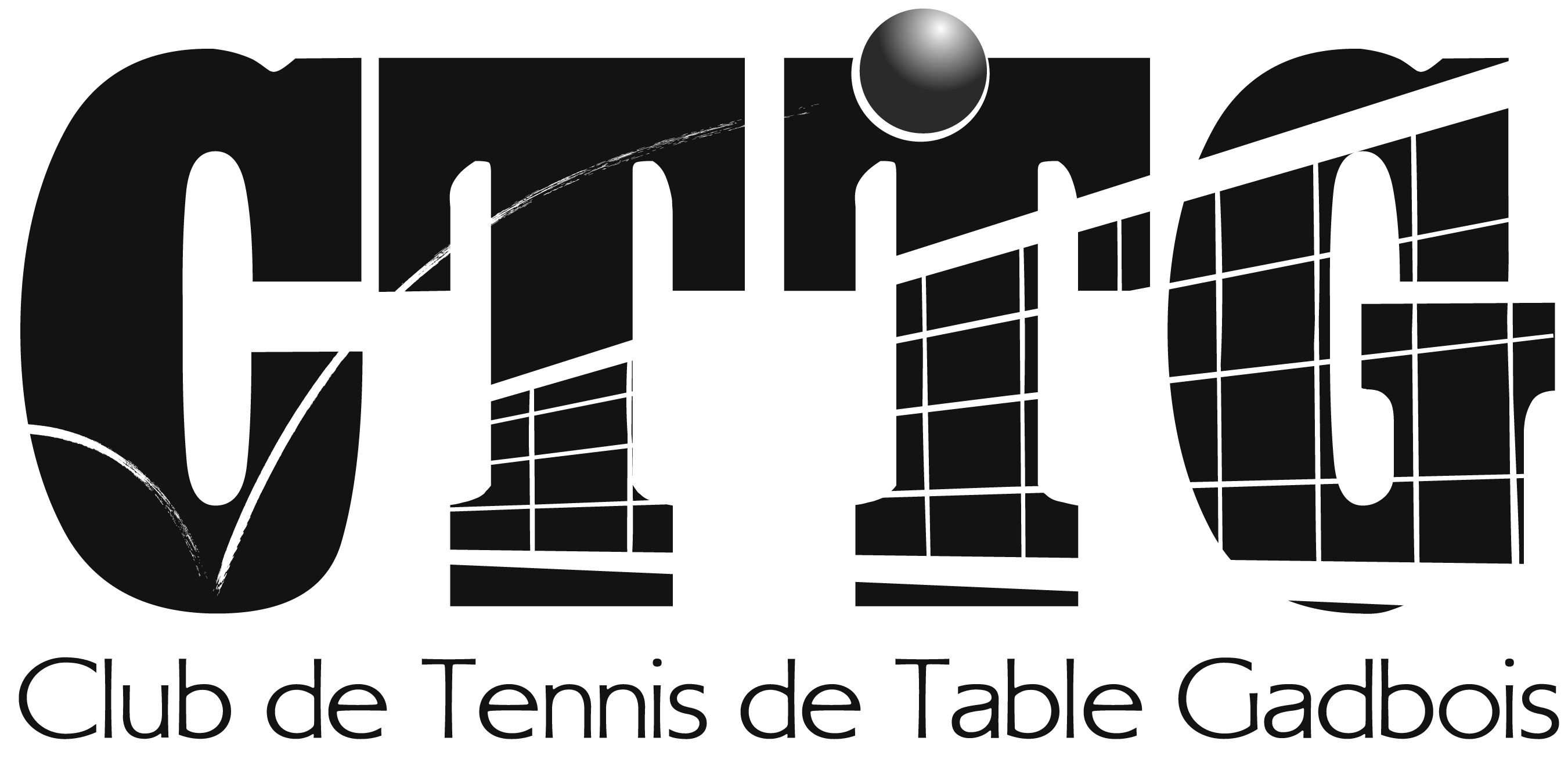 Logo du club de tennis de table Gadbois de Montréal