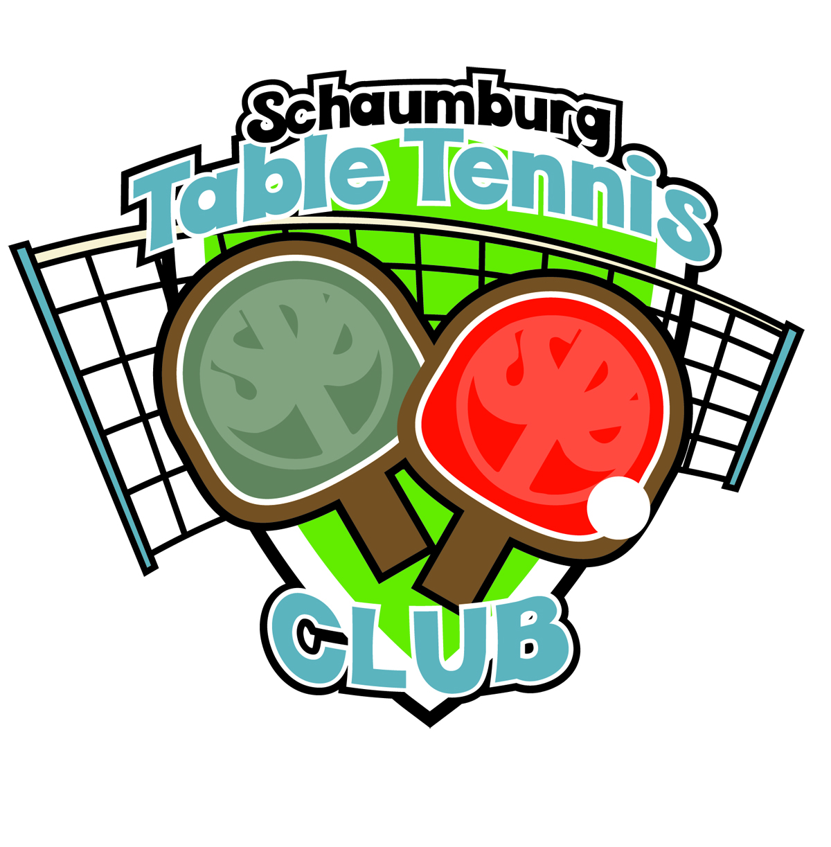 Schaumburg Table tennis club logo