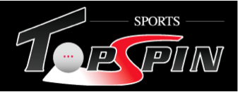 Sports Topspin Logo Table tennis equipment retailer