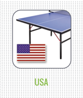 USA table tennis tables